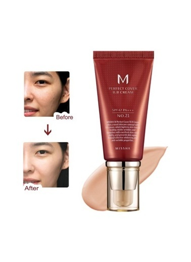 Missha M Perfect Cover Bb Cream No: 21 Bej